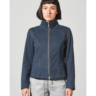 Veste femme zip en chanvre et coton bio