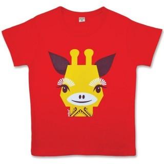 T-shirt girafe de la marque coq en pâte