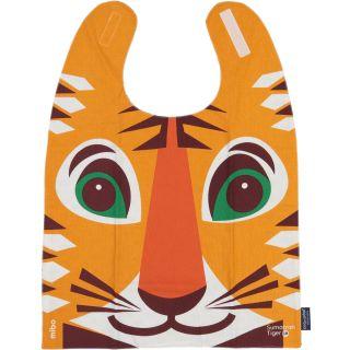 bavoir enfant grand format imprimé tigre recto