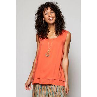 Débardeur femme été nomads clothing couleur papaye