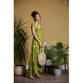 Robe longue femme imprimée zanzibar - Nomads Clothing