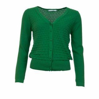 Cardigan vert Gerdy 100% coton biologique