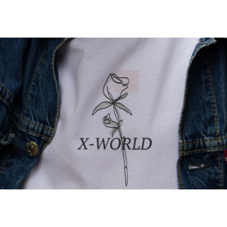 "T-shirt X-WORLD - ""Rose"""
