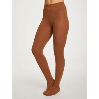 Collants en bambou marron Toffee