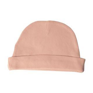 Bonnet rose coton bio bébé Peau éthique