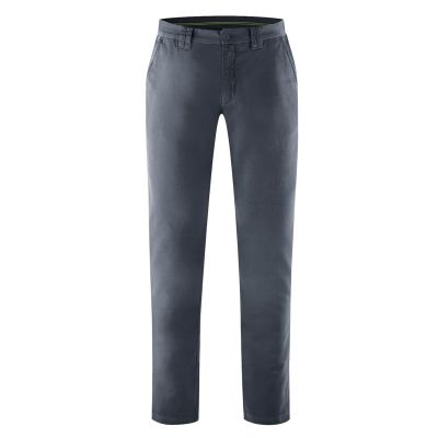Pantalon décontracté chino homme gris sombre