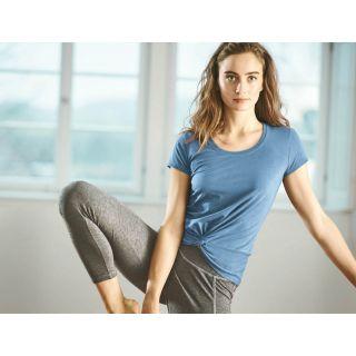 Tee shirt yoga avec noeud