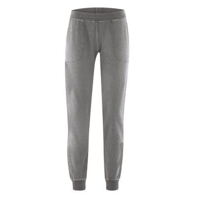 Pantalon jogging coton bio et chanvre taupe