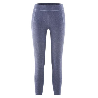 Pantalon leggings lavende pour le yoga coton bio et chanvre