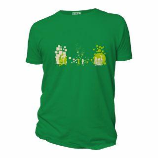 Tee-shirt coton bio visuel Premier pas
