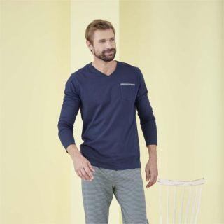 Pyjama manches longues homme modèle Colin