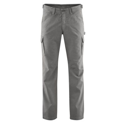Pantalon cargo chanvre et coton bio asphalt