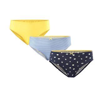 Lot de 3 slips femme coton bio Imala