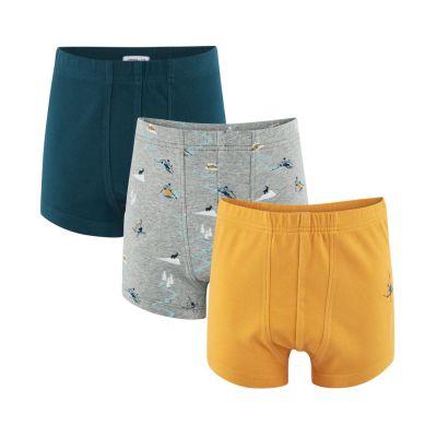 lot de 3 boxers coton bio Living Craft