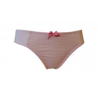 Slip rose coton bio femme