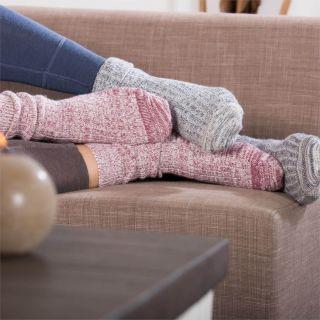 Chaussettes Norvégiennes laine pour homme et femme