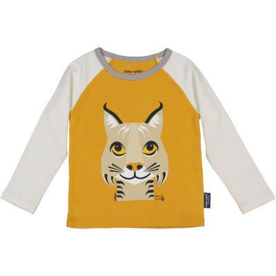 T-shirt manches longues raglan lynx