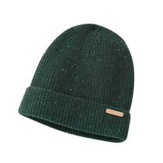 Bonnet 100% laine bio vert