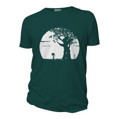 Tee-shirt coton bio Pousse vert