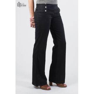 Pantalon noir Femme Chanvre et coton biologique