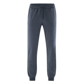 Pantalon de sport couleur dark chanvre coton bio