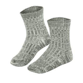 Chaussettes norvégiennes grises enfant