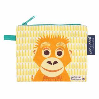 Porte monnaie jaune orang outan