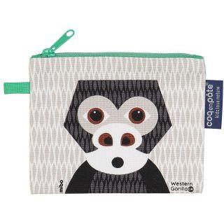 Porte monnaie gris Gorille de la marque Coq en Pâte