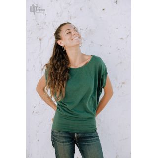haut femme vert sarcelle