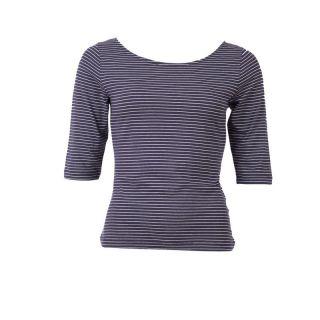 Tee-shirt lina style marin en tencel