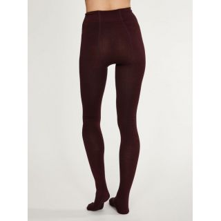 Collants en bambou figue de la marque Thought