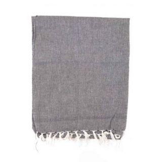 Cheche éthique, tissu khadar léger gris clair chiné