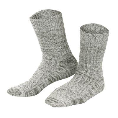 Chaussettes Norvégiennes laine et coton biologique