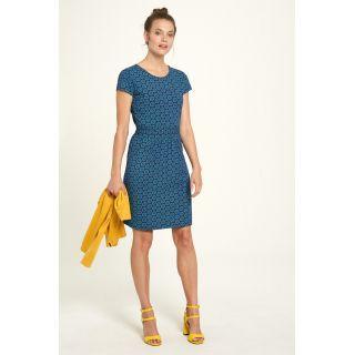 Robe bleue jersey coton bio photographie
