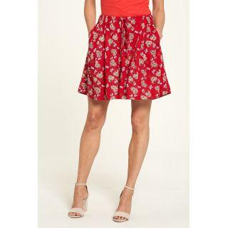 Pantalon rouge EcoVero de Lenzing