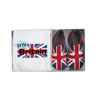 Set cadeau chaussons Union jack et t-shirt
