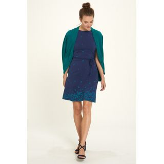 Robe bleue marine en coton bio photographie