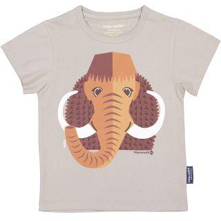 T-Shirt Coton Bio gris Mammouth avant