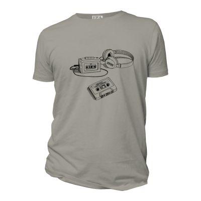 Tee-shirt coton bio Archives face gris