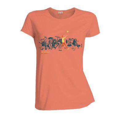 Tee-Shirt en coton bio Yin & Yang face