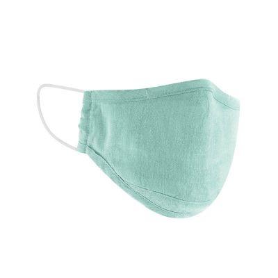 Masque de protection chanvre et coton bio sage