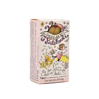 Savon bio patchouli de la savonnerie Les Savons D'orély