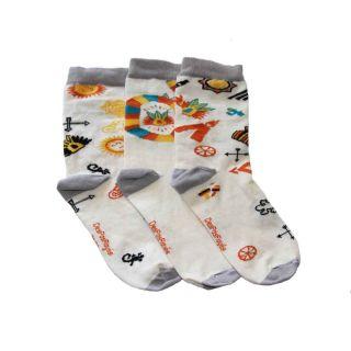 Ensemble 3 chaussettes soleil de la marque Desparayées