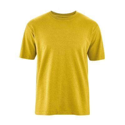 T-shirt éthique curry