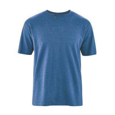 T-shirt uni bleu mer