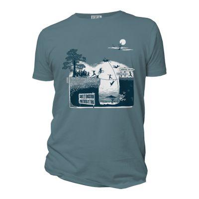 Tee-shirt engagé en coton bio visuel de la marque Quat'rues