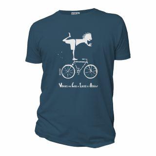 Tee-shirt coton bio vélo Véhicule pour Épris de Liberté et d'Oxygène