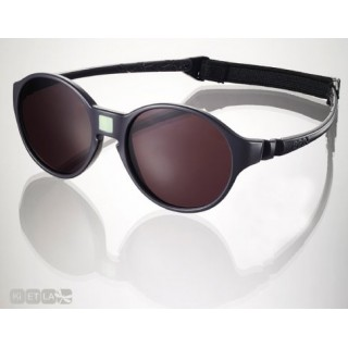 lunettes de soleil Ki ET LA, Jokakids, grise, 4-6 ans