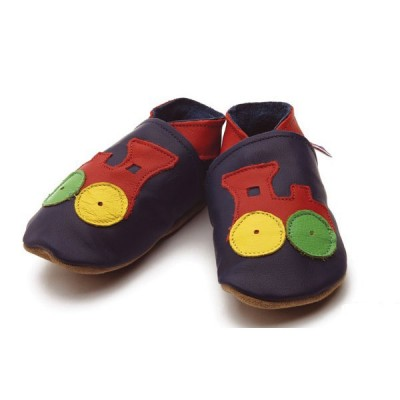 CHAUSSONS CUIR SOUPLE STARCHILD train