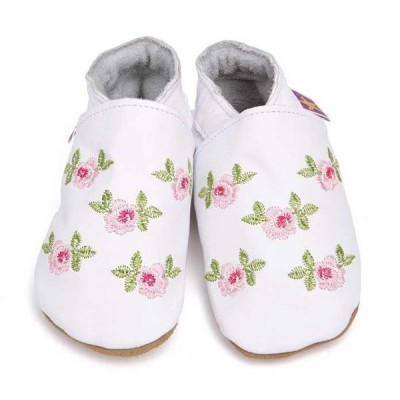 Chaussons Starchild Rosa baby white